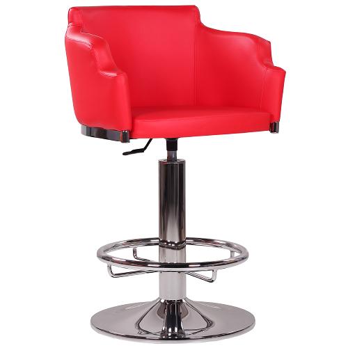 Kovové casino barové židle JOE výškově stavitelné