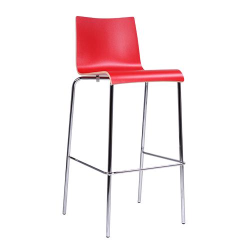 Barová židle ROMAN HPL stohovatelná