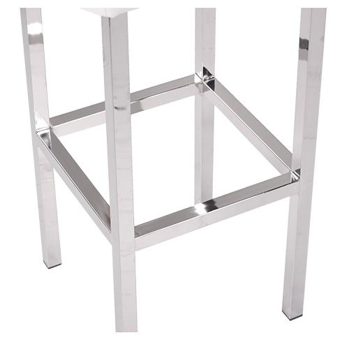 Kovové kostry chrom barové židle