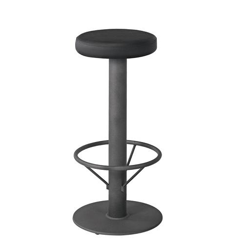 Kovová barová židle ROMA D