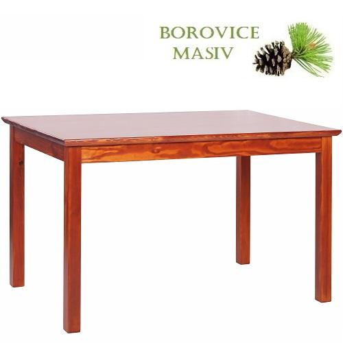 Dřevěné stoly ROBBY 128Z borovicové jídelní a restaurační stoly