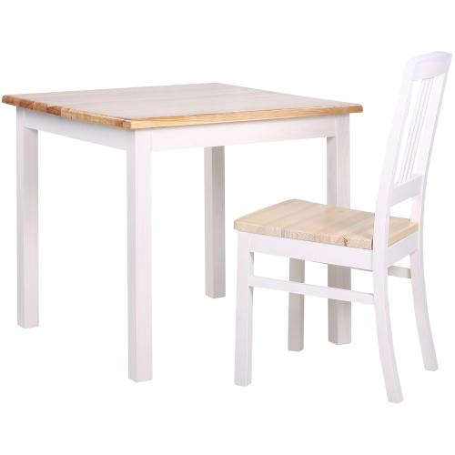 Dřevěné borovicové stoly jídelní