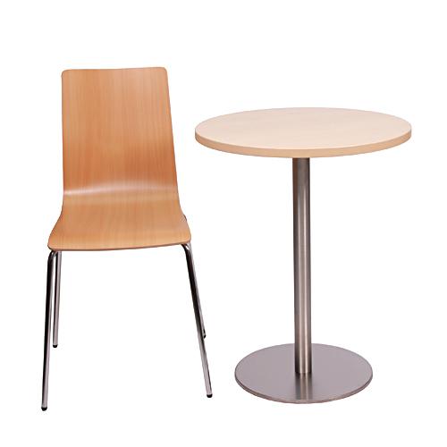 Kovové bistro stoly a žilde