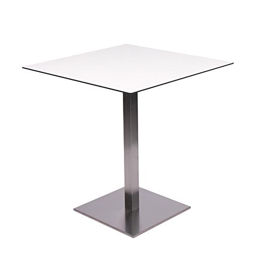 Bistro kovové stoly s centrální nohou