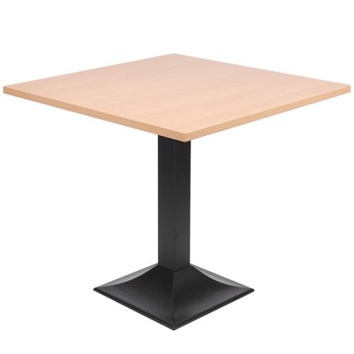 Kovové stoly na zentrální noze
