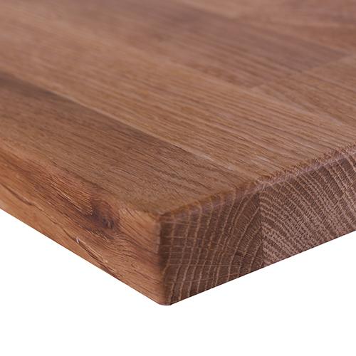 Dubové dosky stolu
