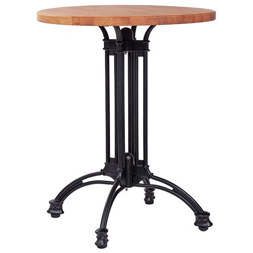 Kovoé stoly dubová deska