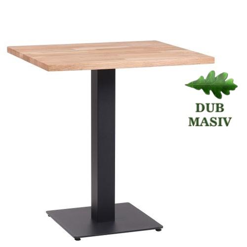 Restaurační stoly více rozměrů GARDA HR-25 dub