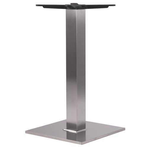 Kovové stolové podnože nerezové