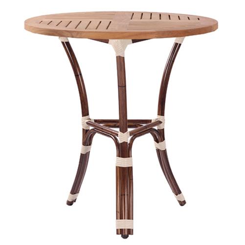 Zaahradní stoly imitace bambus