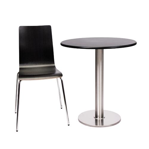 Kovové židle a stoly