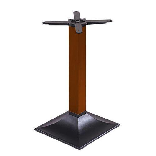 Stolová podnož s dřevněou stojkou