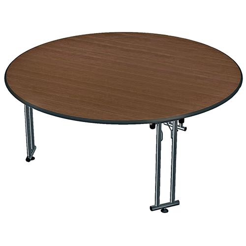 Kulatý stůl skládací nohy