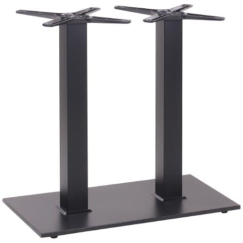 Dvojité kovové nohy ke stolu
