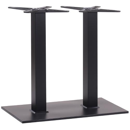 Dvojité nohy k stolu kovovej