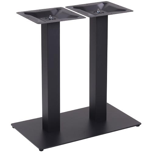 Kovové dvojité nohy ku stolu NIZZA