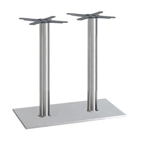 Kovové nohy ke stolu dvojnoha