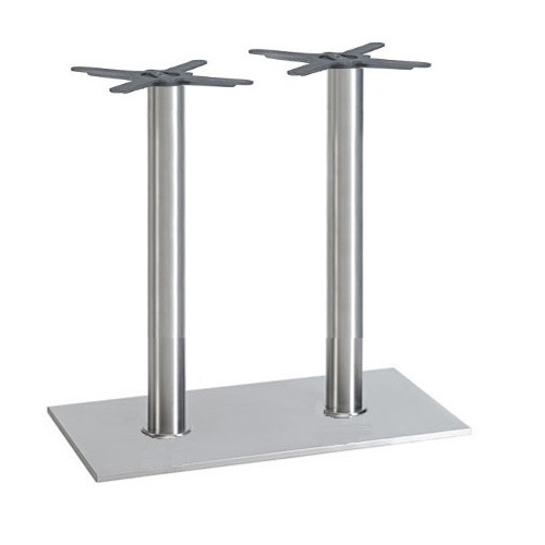 Kovové stolové nohy RIANO DUO IX nerez