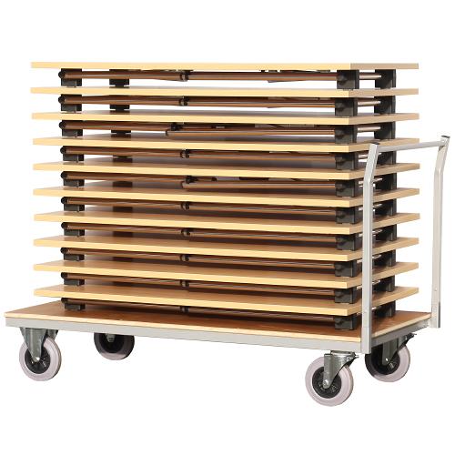Vozík pro přepravu sklapovacích stolů KT168