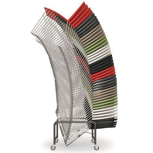 Vozík pro přepravu židlí ARIS až 40 ks židlí