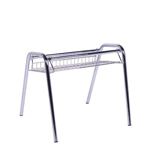 Závěsný košík pod židle kovový