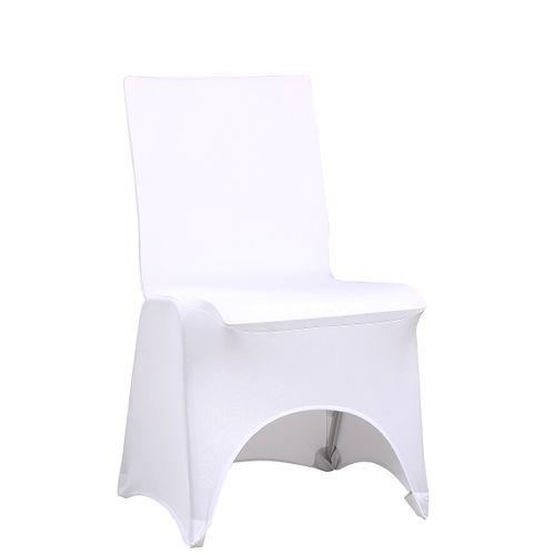 Univerzální návlek na židle v bílé barvě