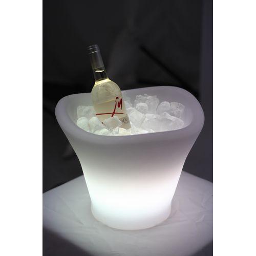 Svítící nádoba na chlazení sektu COOL LED