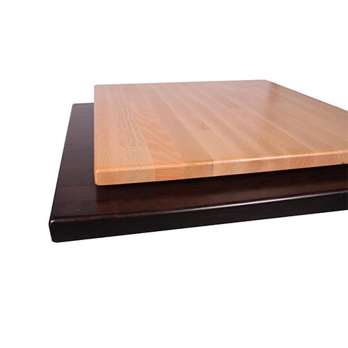 Masivní bukové stolové desky síly 27 mm