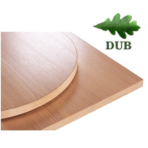 Dýhované stolové desky síly 30mm dubová dýha