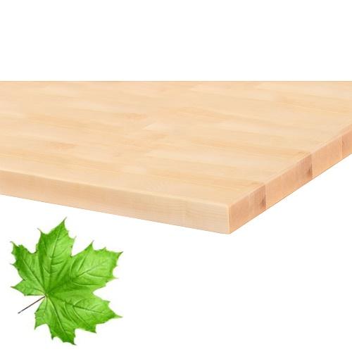desky stolu javor masiv
