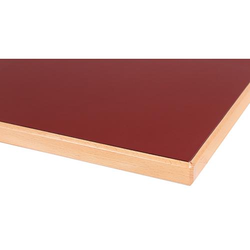 Desky ke stolu laminát HPL 26 mm hrana masivní dřevo