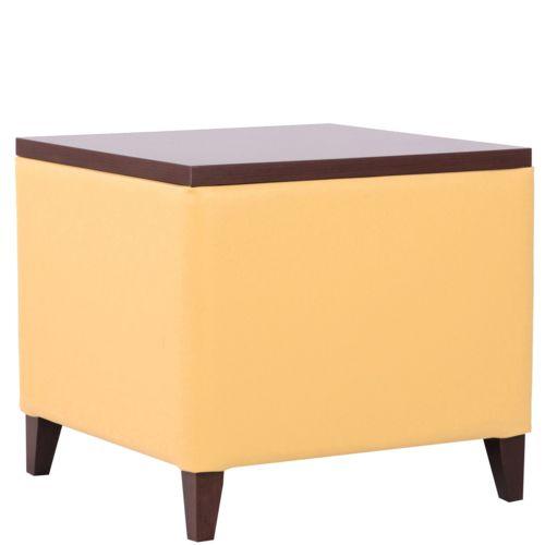 Čalouněné taburety s deskou stolek