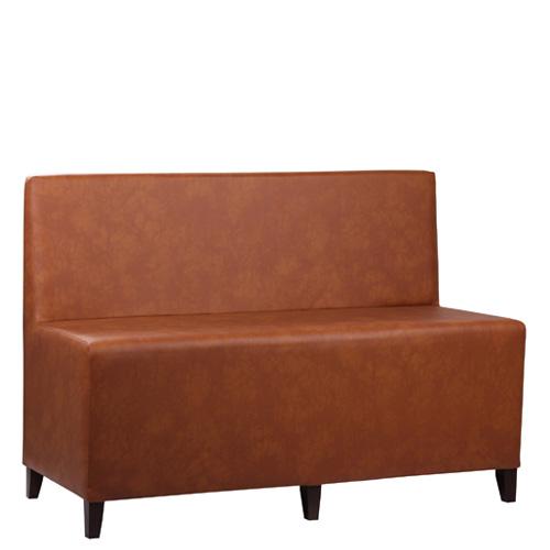 Čalouněné lavice s opěradlem