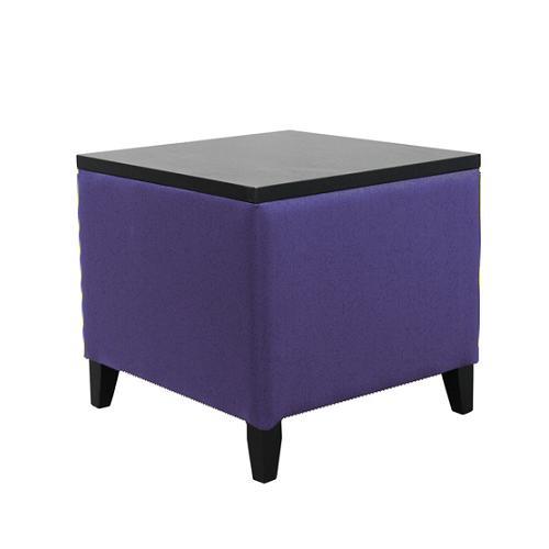 Sedací kostka - stolek.