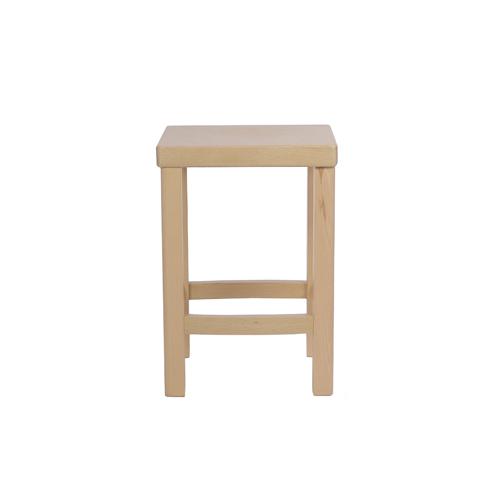 Dřevěné sedscí taburetky, židle bez opěradla