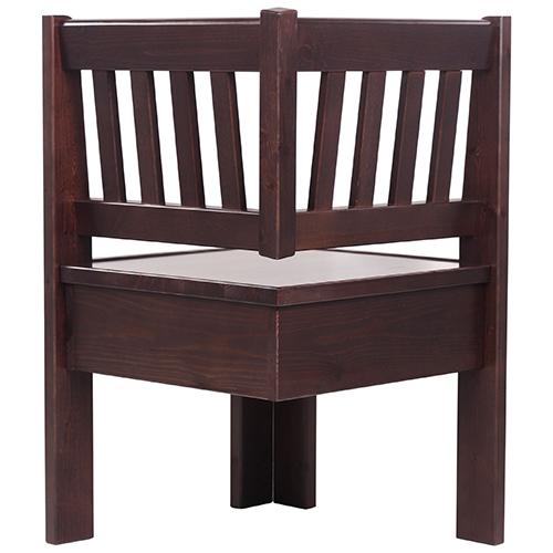 Dřevěné rohové lavice