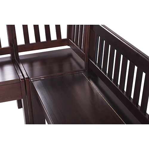 Dřeěvné rohové lavice