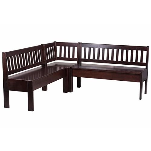 Drevené jedálenské lavice