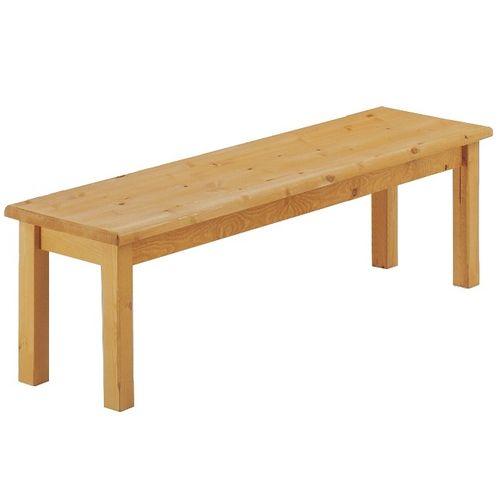 Sedací dřevěná lavice FRANCA