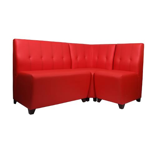 Rohové čalouněné lavice