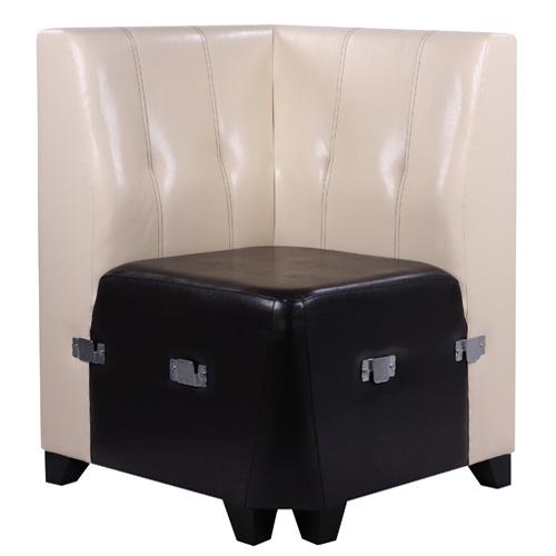 Čalouněné rohové lavice do restaurace
