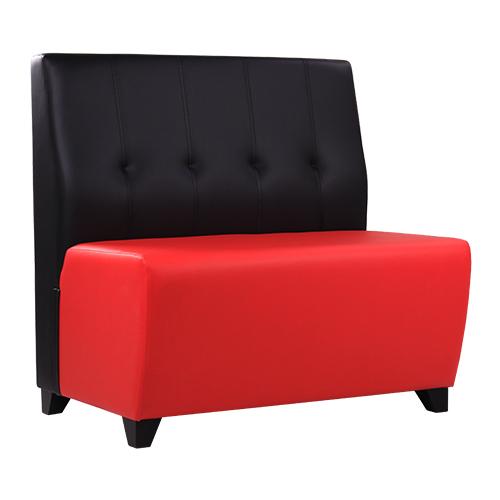 Dvoubarevné lavice do restaurace