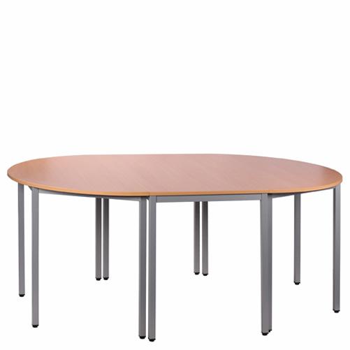 Konferenční kovové stoly