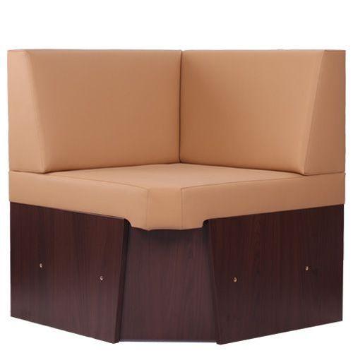 Rohový díl čalouněné lavice