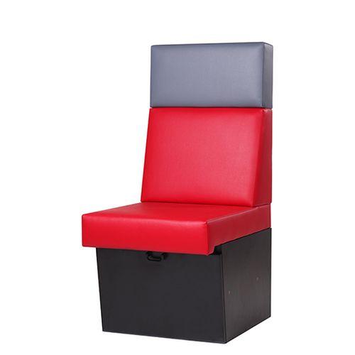Modulárné sedacie čalúnené lavice do reštaurácie