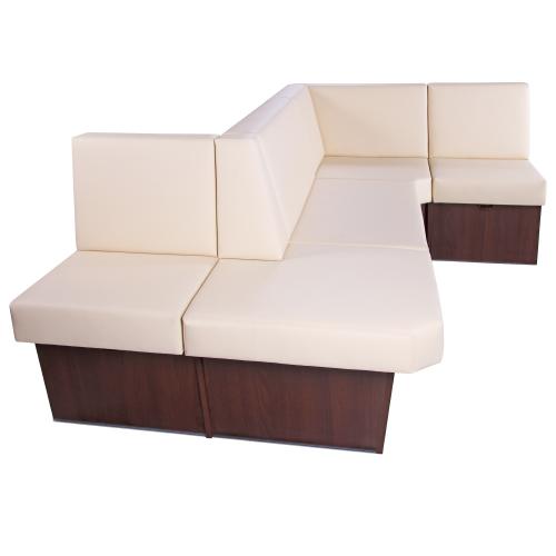 Čalouněné lavice do restaurace rohové