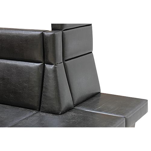 Čalouněné rohové lavice